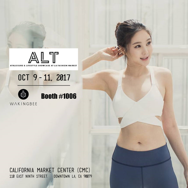 Oct 9-11, Booth at Athleisure x Lifestyle Trade Show (ALT)