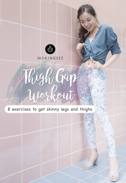 wakingbee thigh gap workout skinny legs thighs