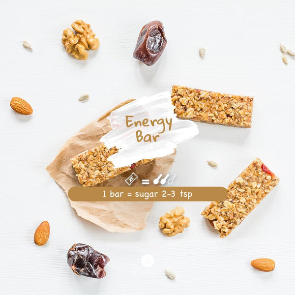 wakingbee energy bar