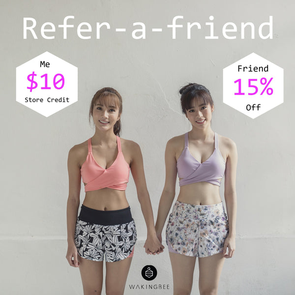refer a friend wakingbee