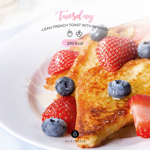 Lean French Toast with Berries