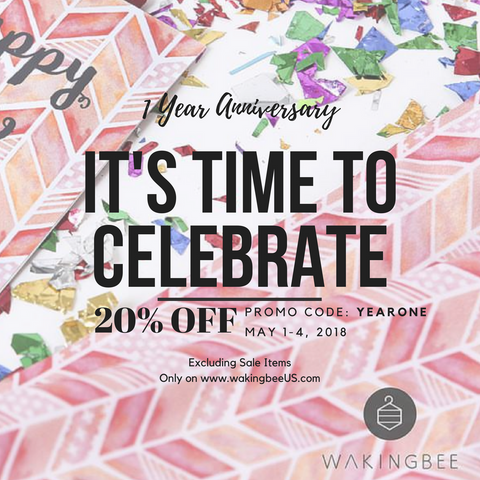 073b82789fdd8 anniversary sale. Wakingbee officially launched in the United States ...