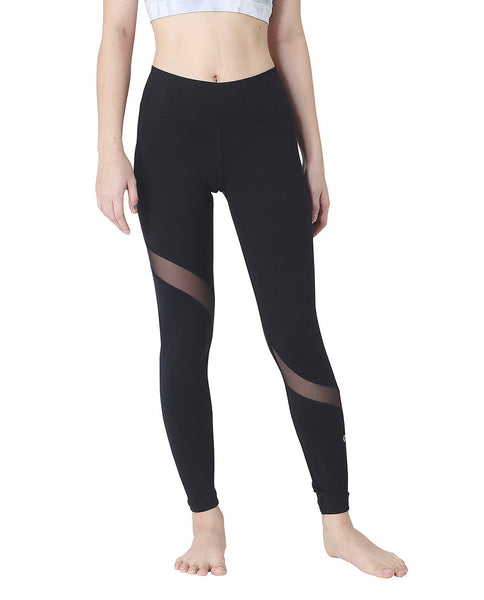 SLASH TIGHTS - BLACK, Leggings - Wakingbee