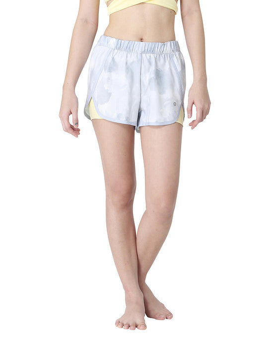 Wakingbee Buzz Runners Shorts Grey Yellow