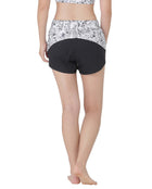 YP$25 - PETAL SHORTS - NIGHT MEADOW, Shorts - Wakingbee