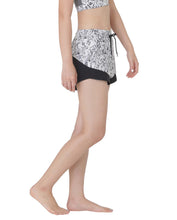 (NEW) PETAL SHORTS - NIGHT MEADOW