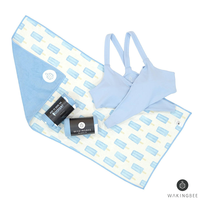 YP$9 - WB Face Towel - Here to Burn the Ice Cream, Towel - Wakingbee