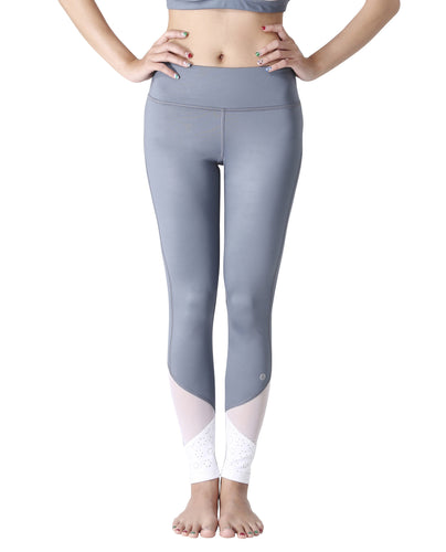 Wakingbee Cut Out Leggings Grey