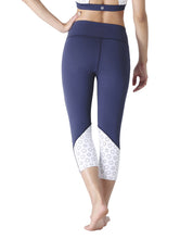 HONEY CAPRI - NAVY & WHITE