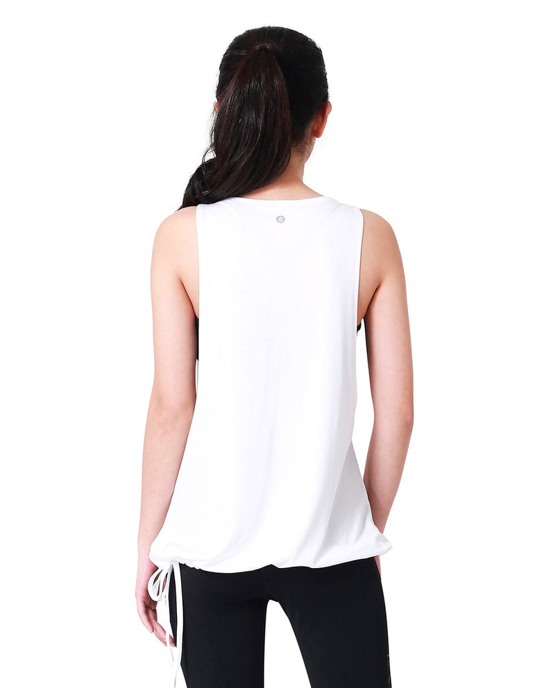 KNOTTY COVER - WHITE, Tank/Top - Wakingbee