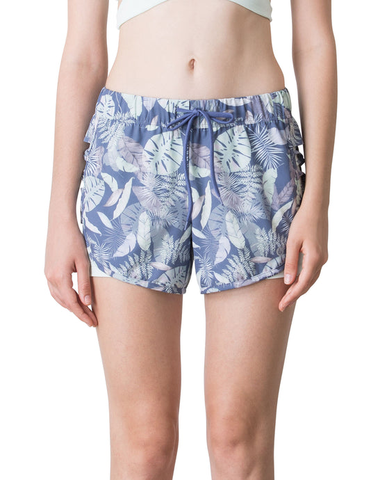 (NEW) SUMMER RUNNER SHORTS - BEACH FOREST