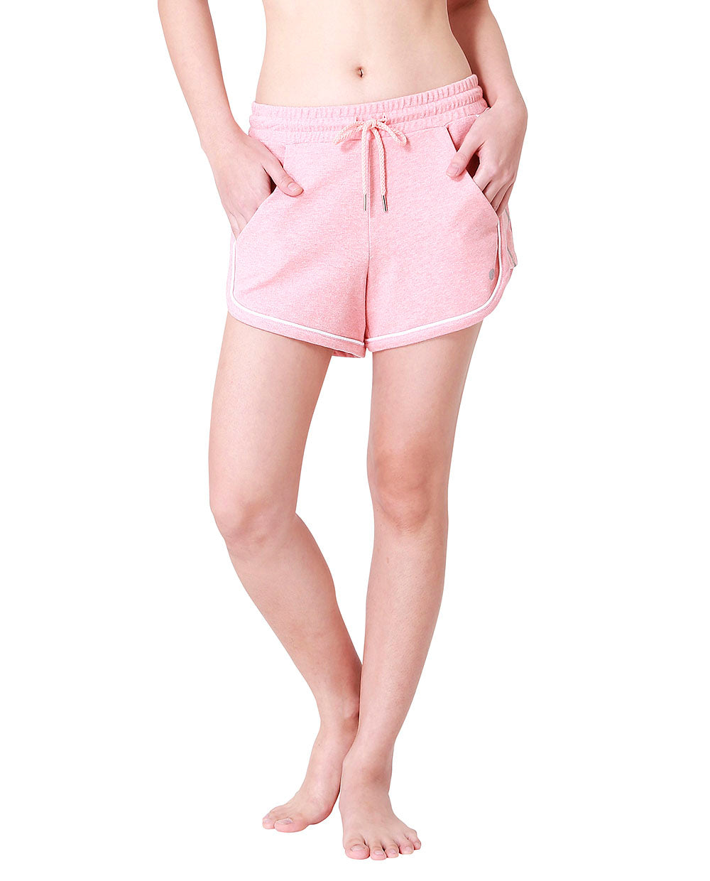 (WBxTAEW) SWEAT SHORTS - PINK