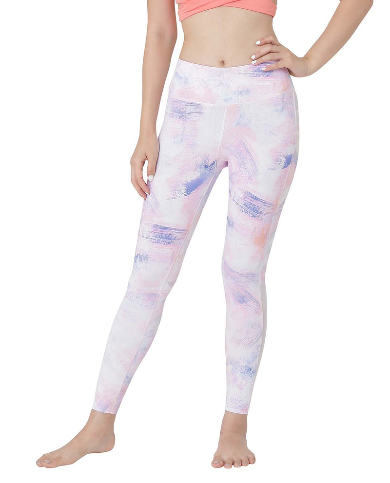 YP$35 - ACTIVE TIGHTS - PAINT, Leggings - Wakingbee