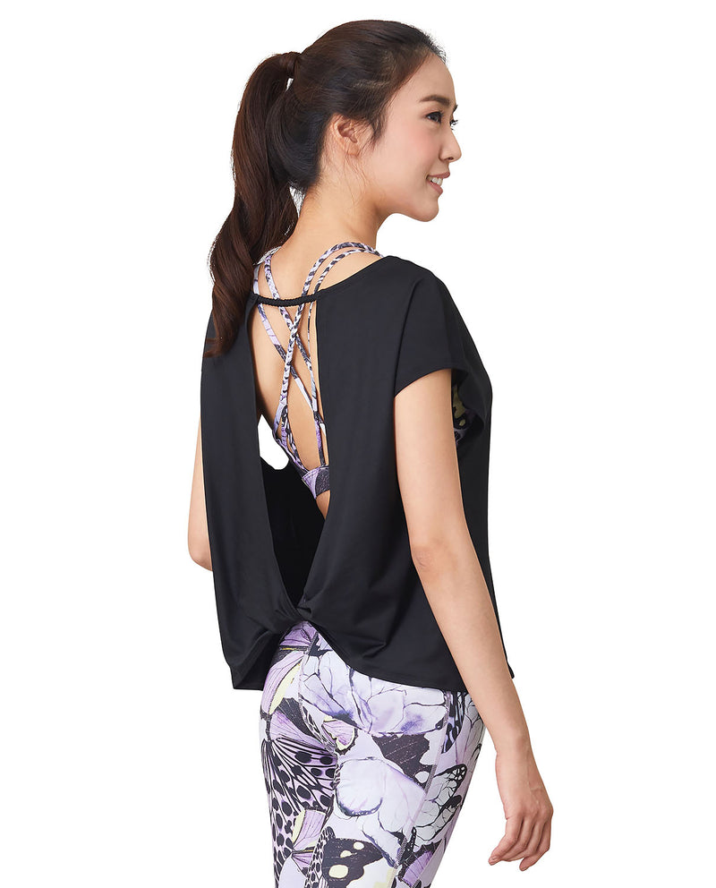 YP$19 - Flow Top - Black, Tank/Top - Wakingbee