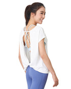 Flow Top - White, Tank/Top - Wakingbee