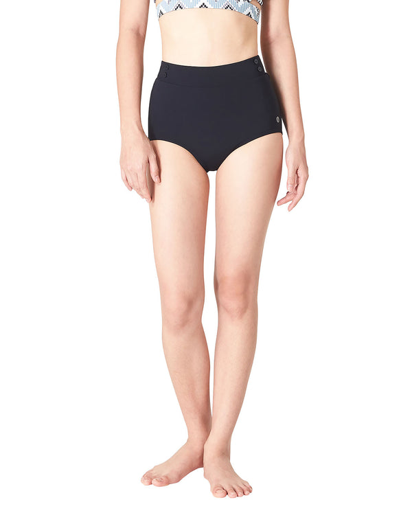 TAEW Hideaway Bikini - All Black, Shorts - Wakingbee