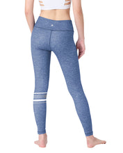 (LIMITED EDITION) KNEE-STRIPED LEGGINGS - DENIM