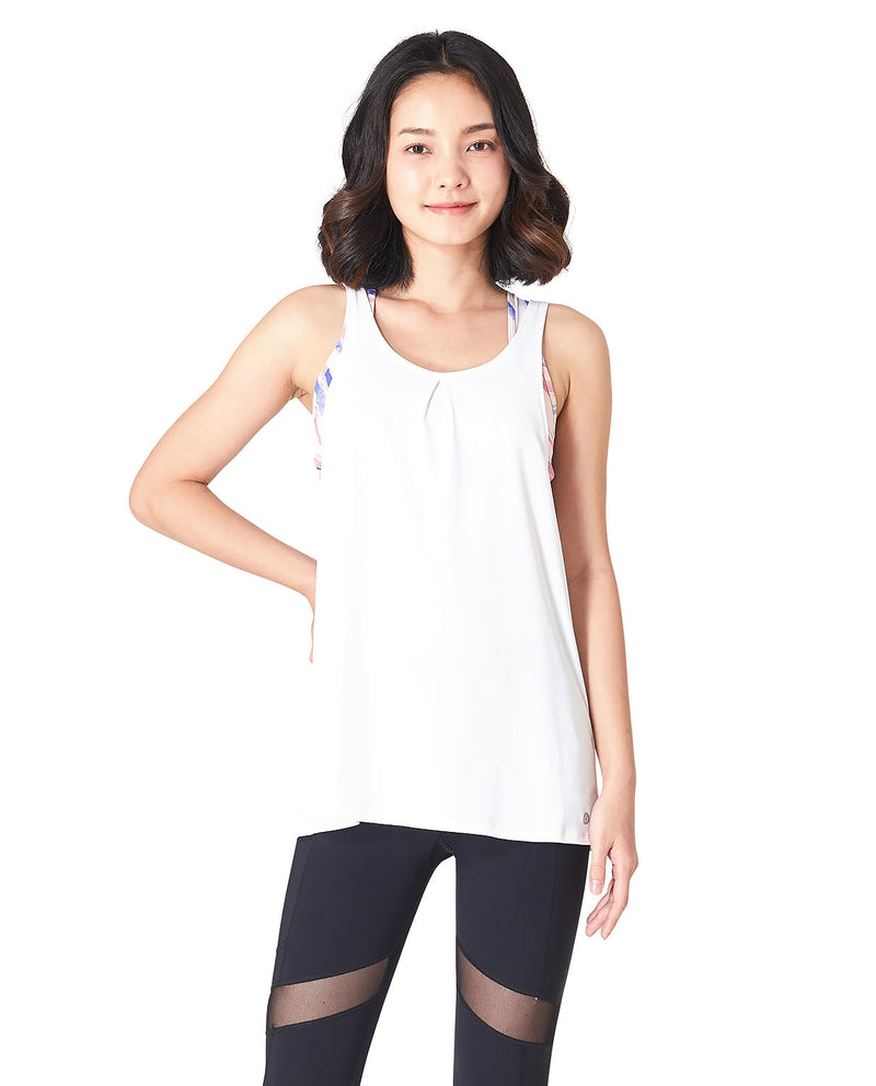 TAEW Sundown Cover - White, Tank/Top - Wakingbee