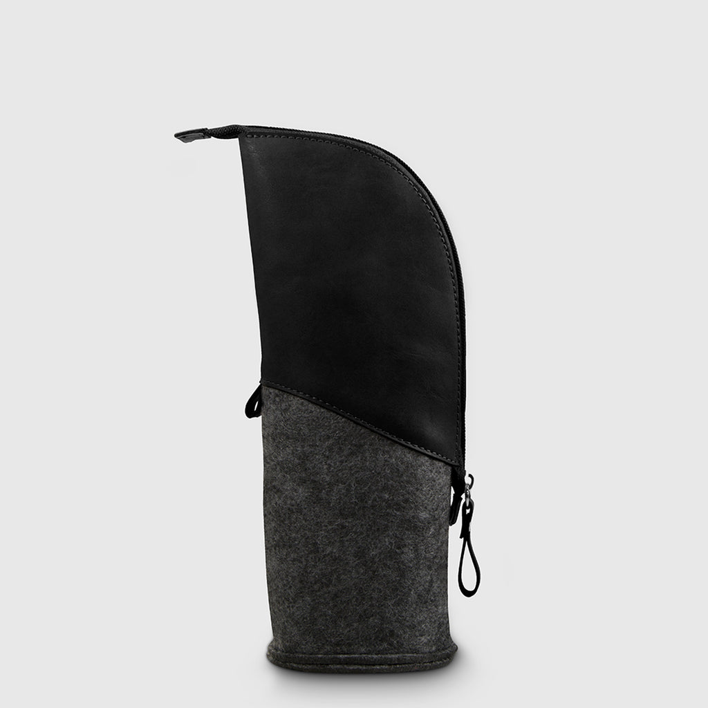 Moai Pencil Case Black