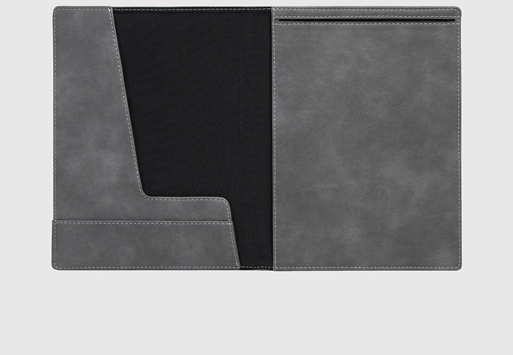 Notebook / Reporter Cover Quantum Grey