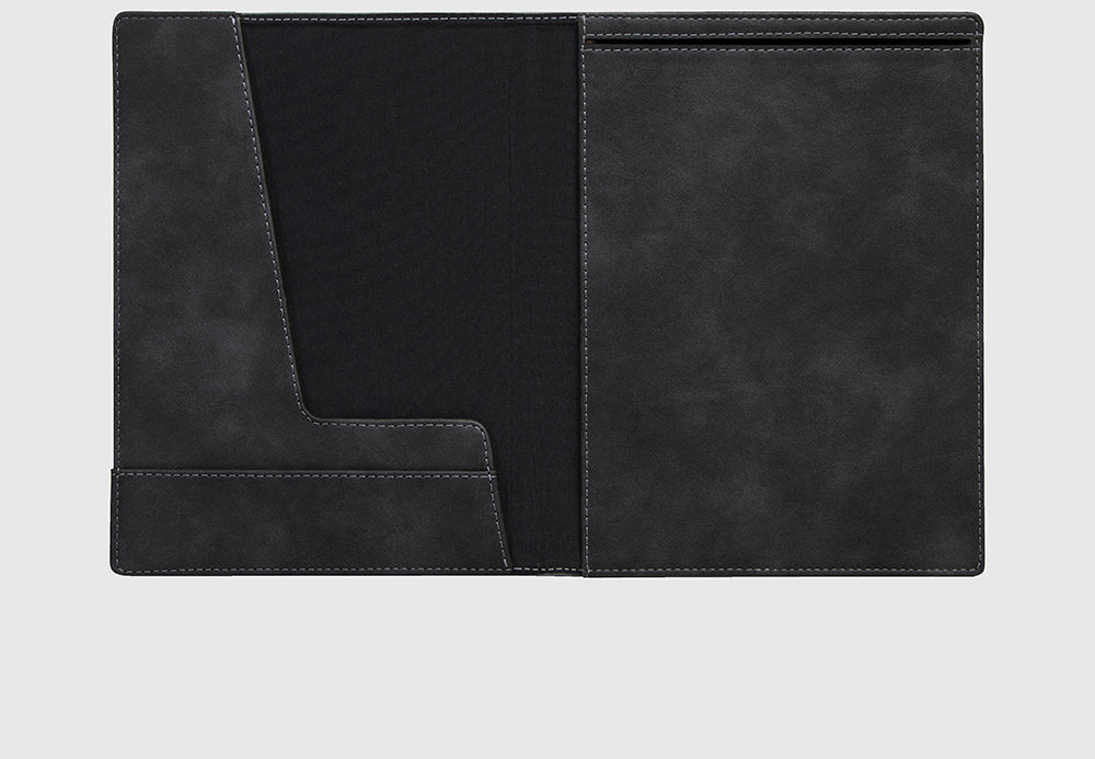 Notebook / Reporter Cover Quantum Black A4