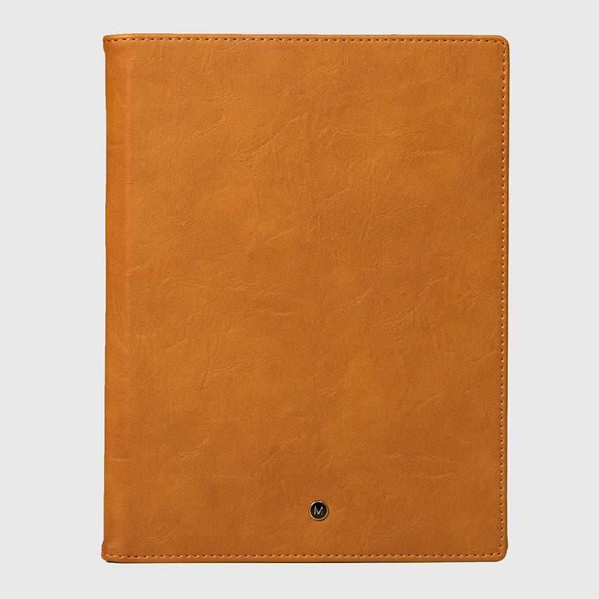 Notebook / Reporter Cover Quantum Brown