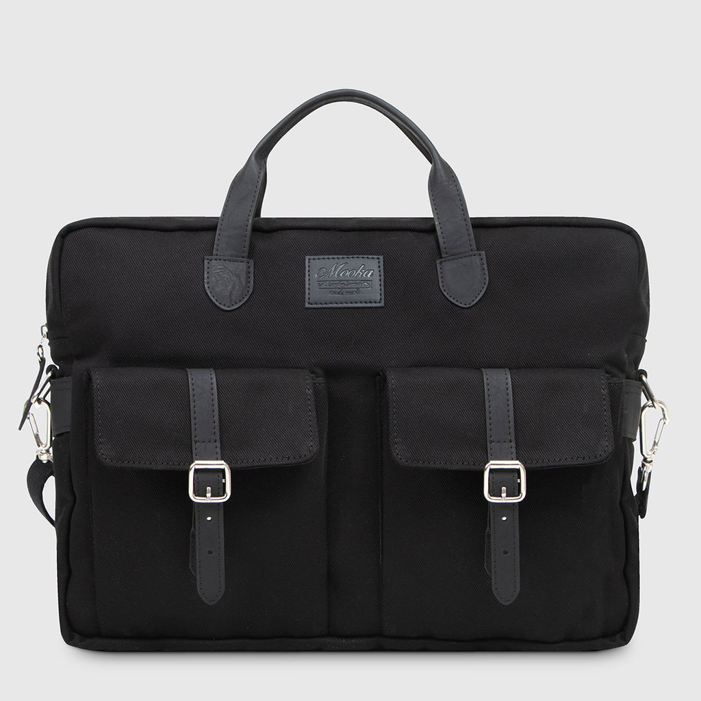 Briefcase Brick Black