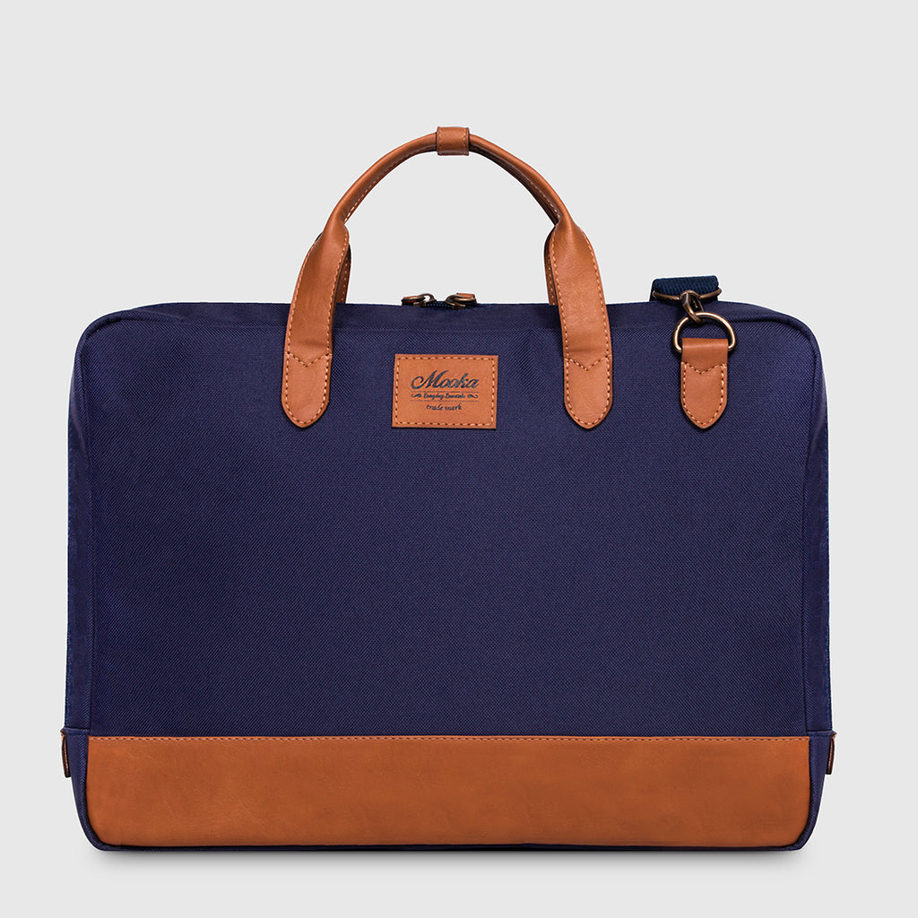 Briefcase York Blue