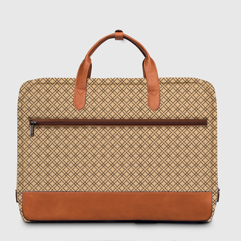 Briefcase York Pattern