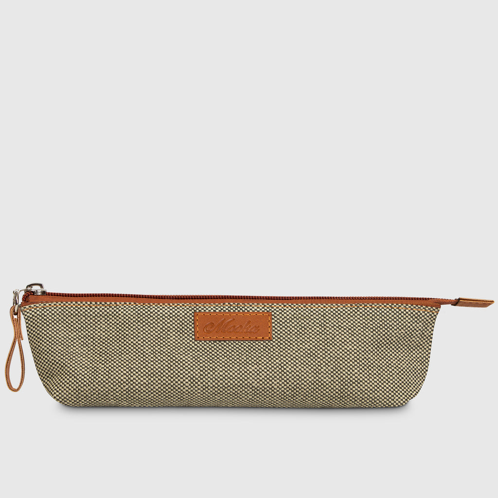 Berlin Pencil Pouch Green Bambú