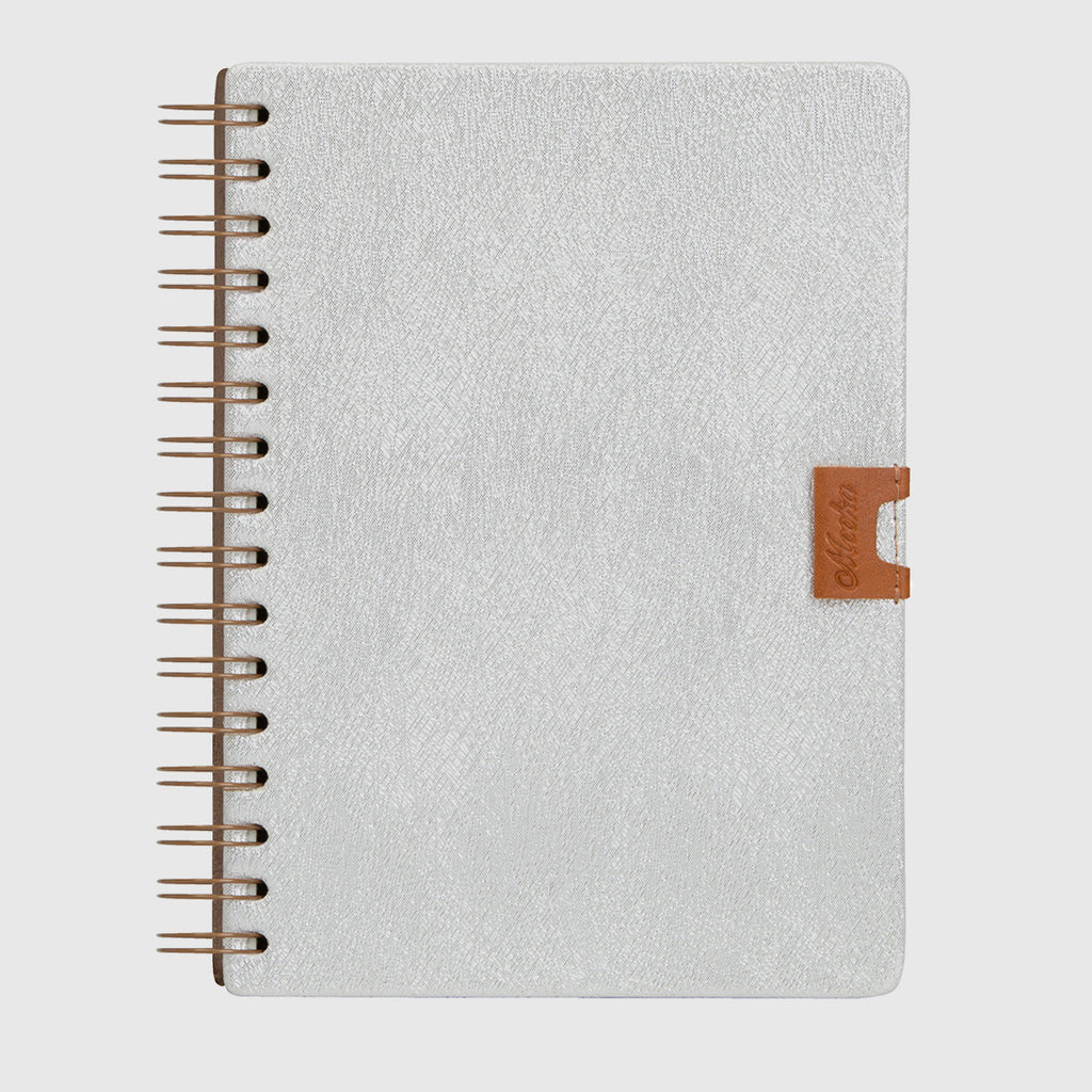 Glam Notebook Brillante Silver