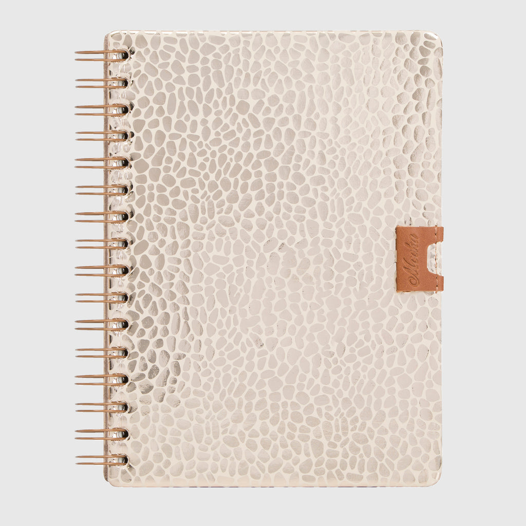 Glam Notebook Jirafa Dorada
