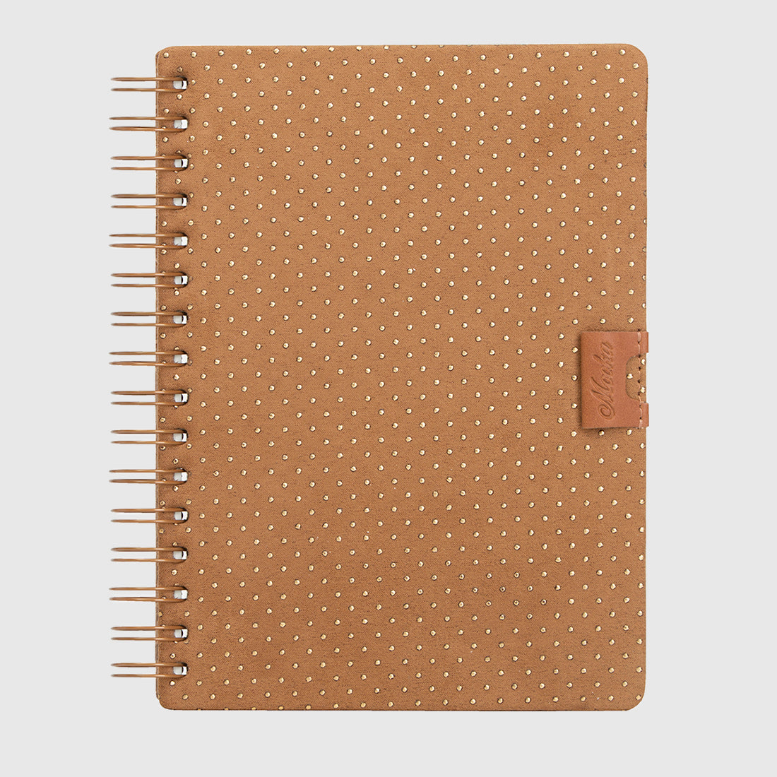 Glam Notebook Nobuk Gold Dots