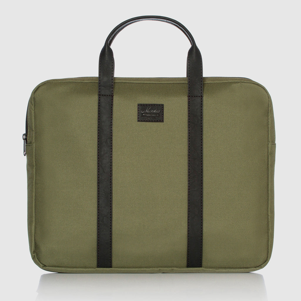 Briefcase Porta Notebook Ultra Slim Green