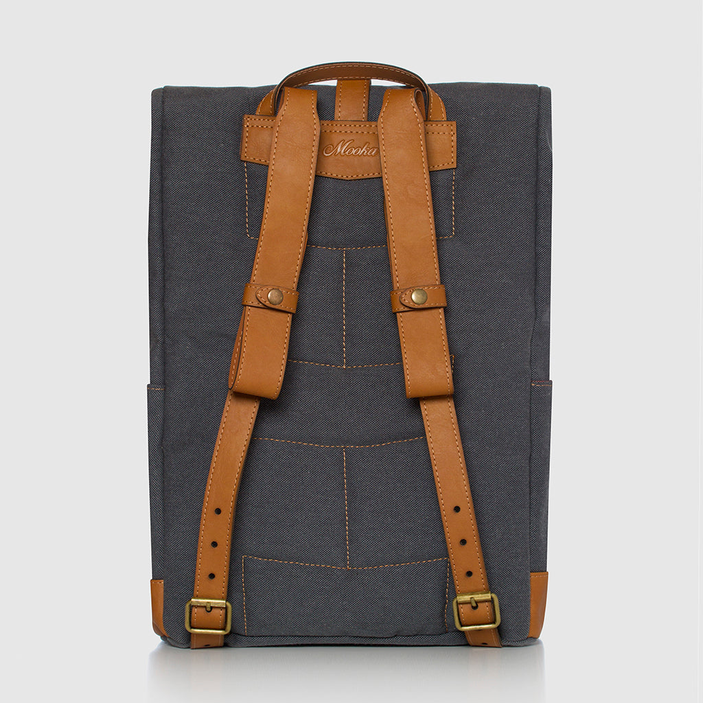 Lotus Backpack Blue Stone