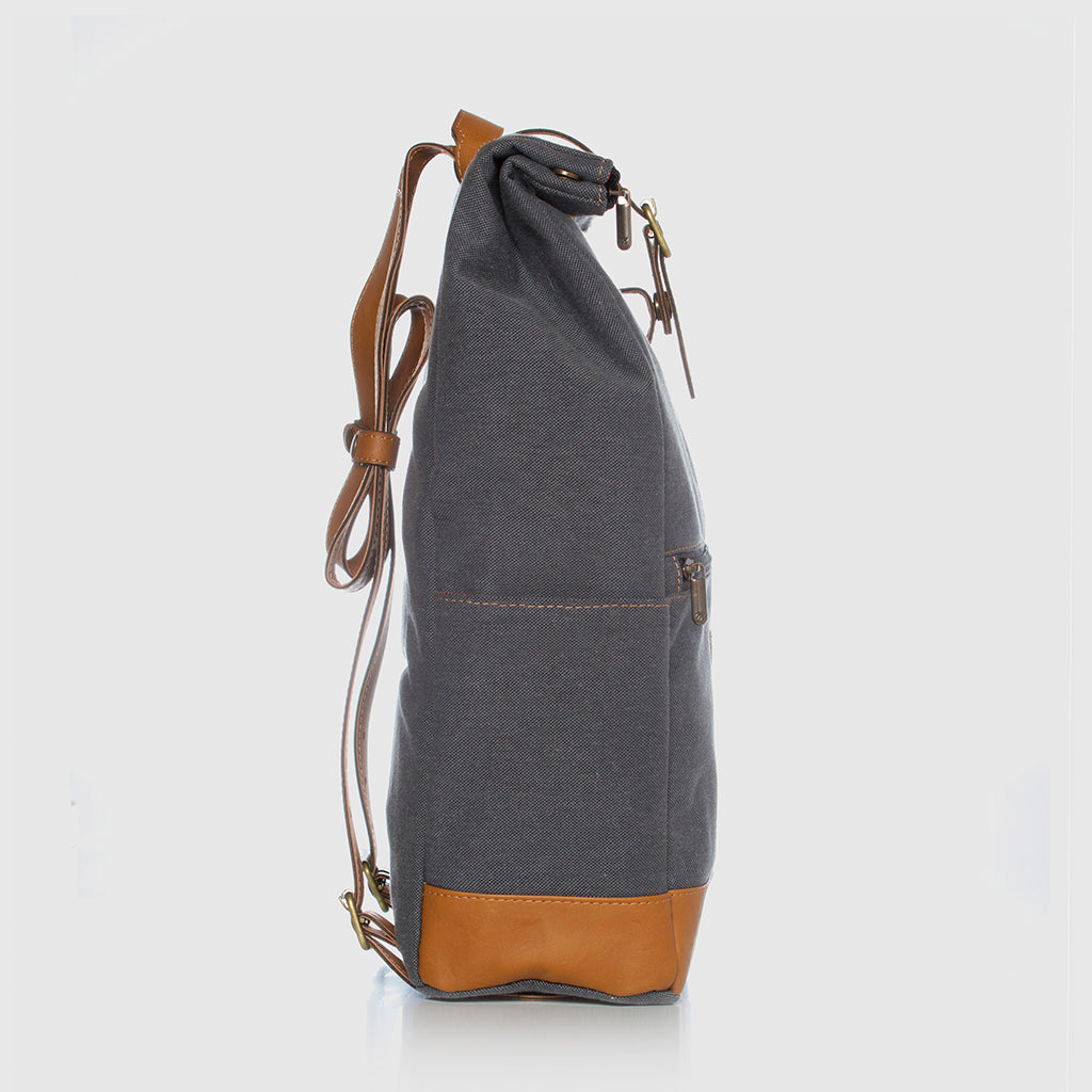 Lotus Compact Backpack Blue Stone