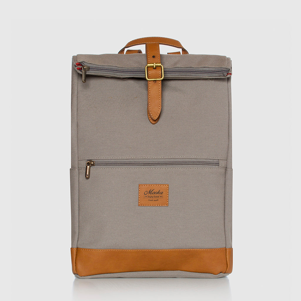 Lotus Compact Backpack Grey