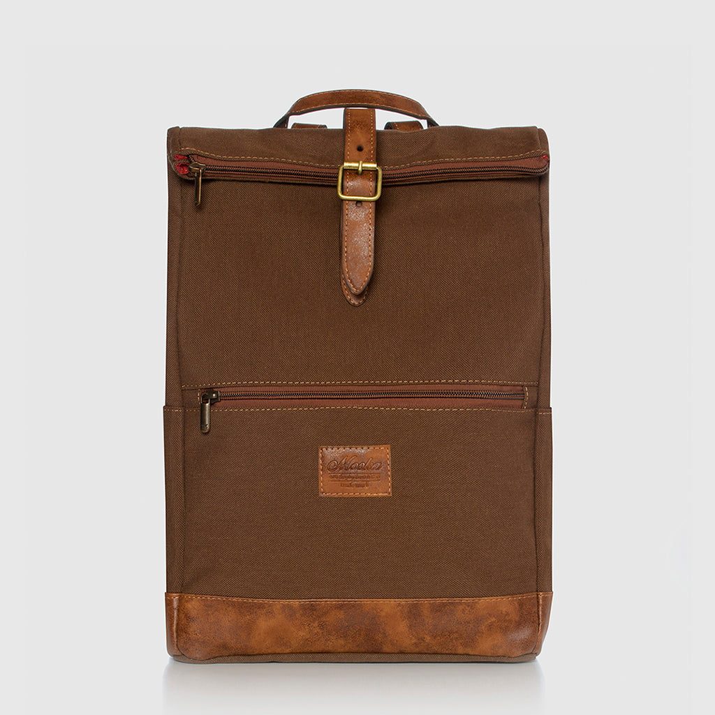 Lotus Compact Backpack Caramel / Smoked Brown