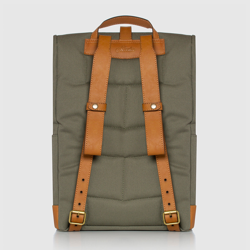 Lotus Compact Backpack Green