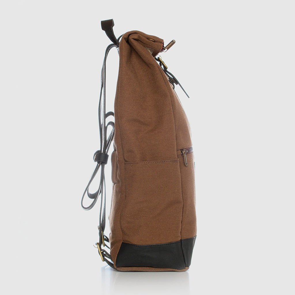 Lotus Backpack Caramel Black