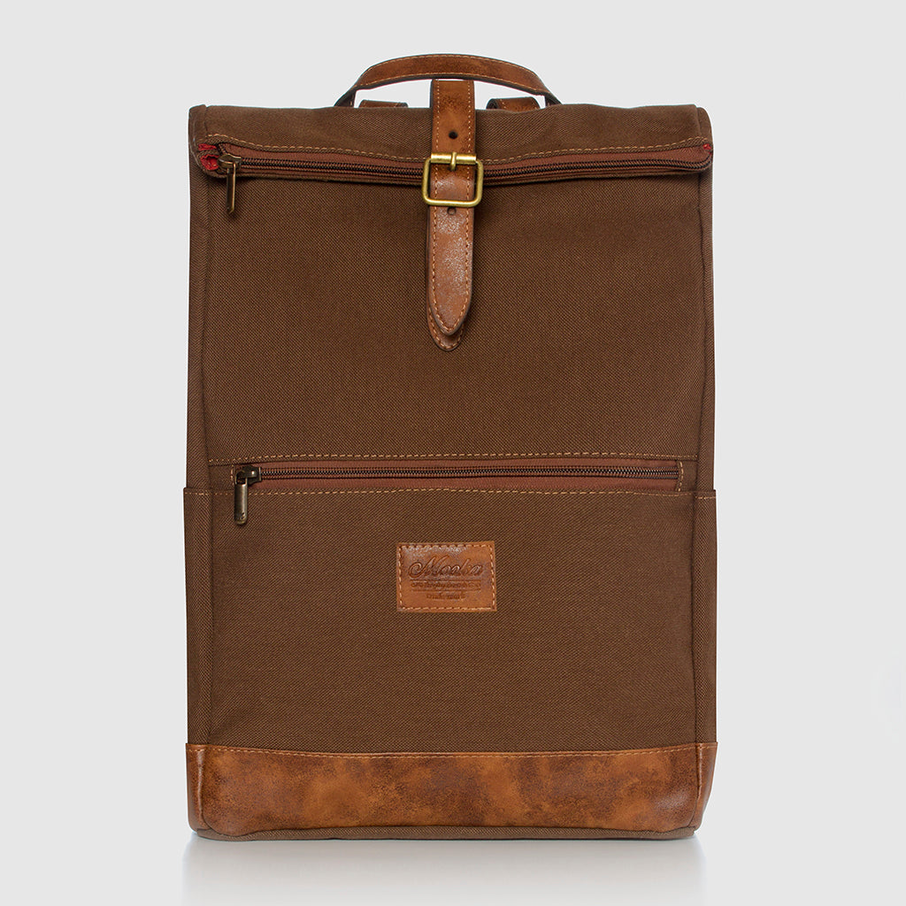 Lotus Backpack Caramel / Smoked Brown