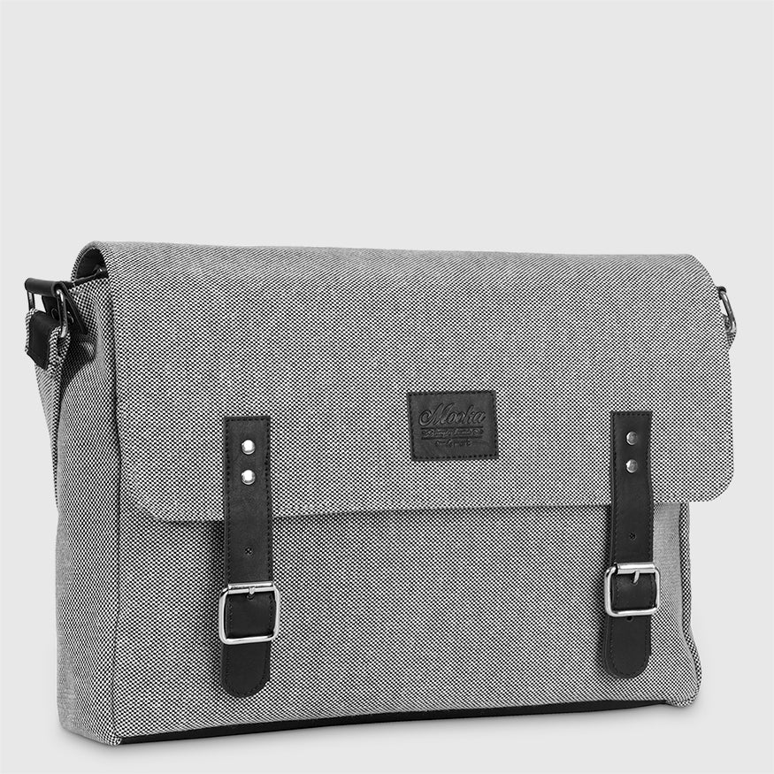 Messenger Berlin Black Marfil