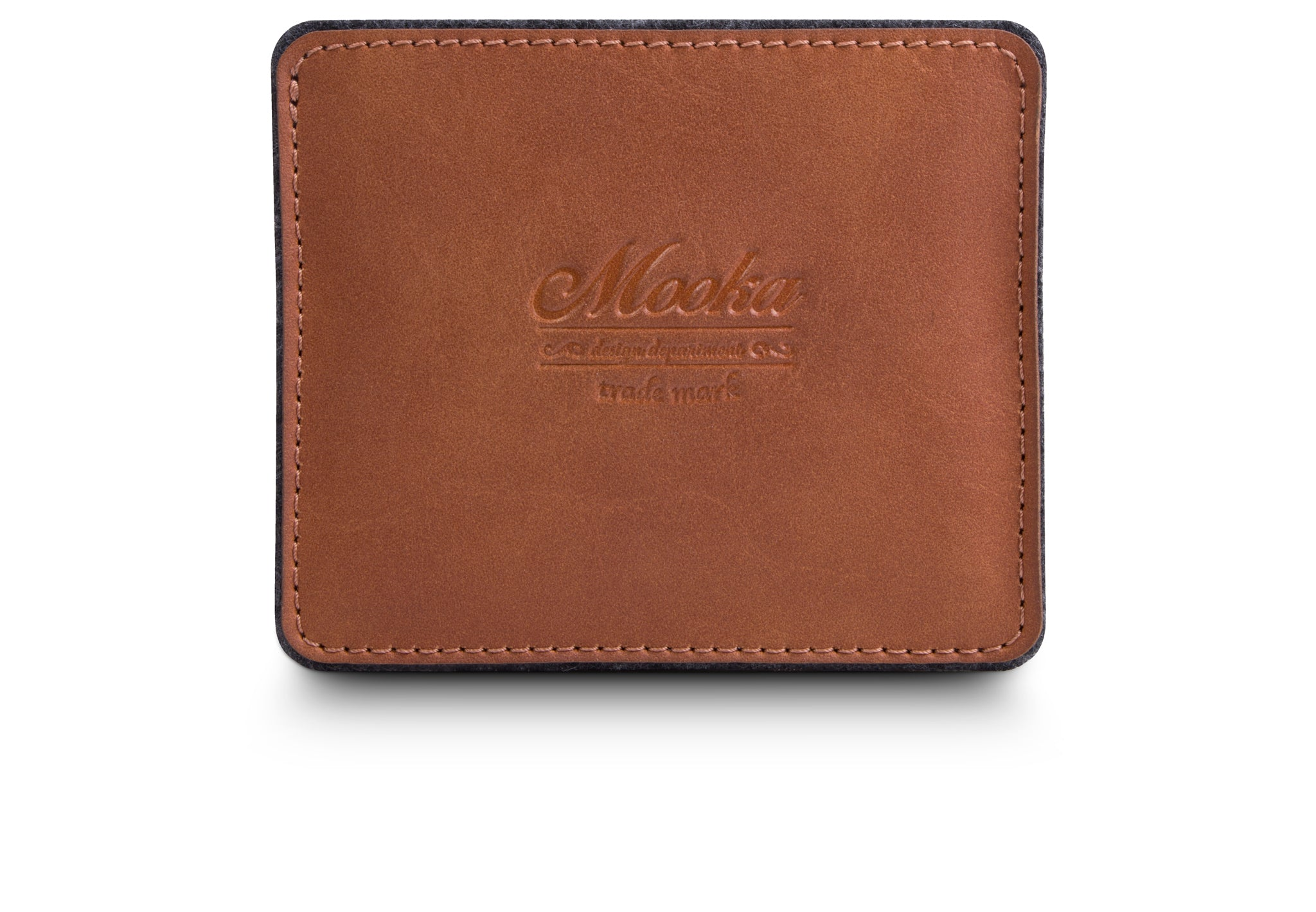 Viena 3Card Case Brown