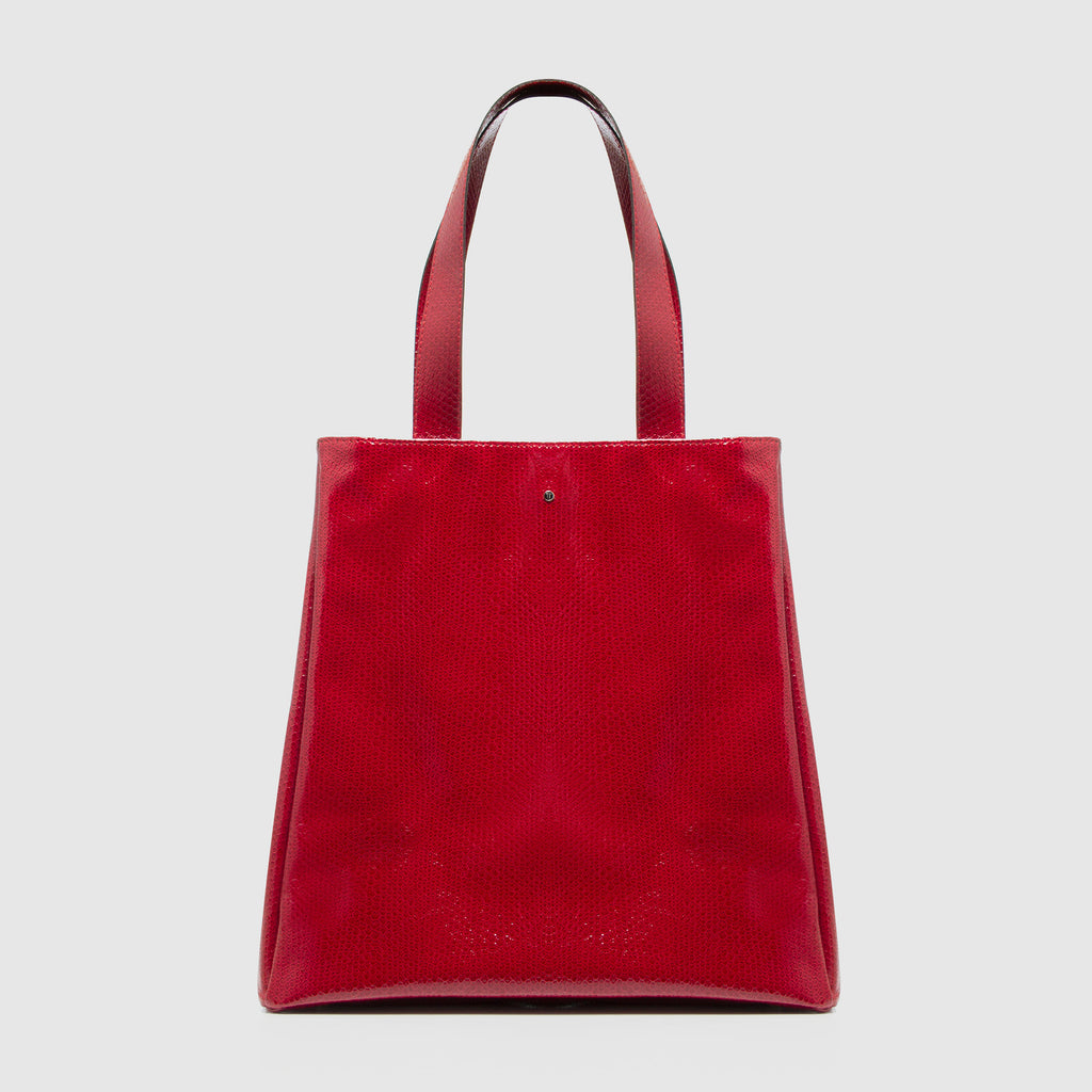 Tote Bag Polly Gray Red