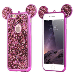<b>IPHONE 6/6S/6PLUS 7/7PLUS</b> - Glitter Bear Ears Phone Case