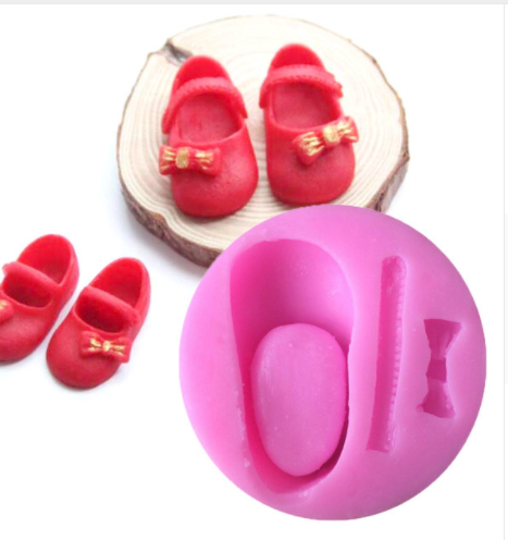 Silicone Girls Shoe Mold