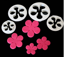 Flower Cutters - set of 4