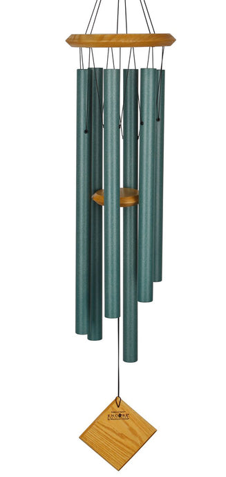 Encore Chimes of Earth Windchime - Verdigris