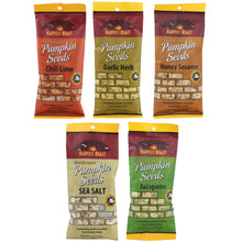 Roasted Pumpkins Seeds Assortment by Harvest Roast, 10 oz.