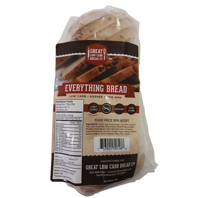 Everything Bread by Great Low Carb Bread Company, 16 oz.